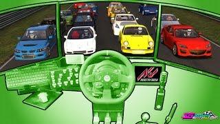 Street Cars VS Nordschleife / Server 24-7 / Assetto Corsa Trackday Online