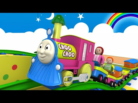 Kids Game Cartoon - Thomas The Train - Toy Factory - Trains for Kids -  Choo Choo train - Toy Trains