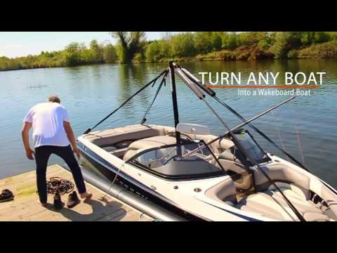 Turning A 'Normal' Boat Into A Wakeboard Boat | Insanity Pylons