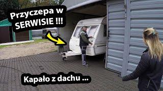 Przyczepa Kempingowa w SERWISIE !!! - Przygotowania do Targów w Nadarzynie i Wyjazdu do Grecji !!!
