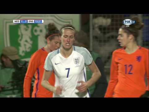 International Friendly. Women. Netherlands - England. 2nd half (29/11/2016)