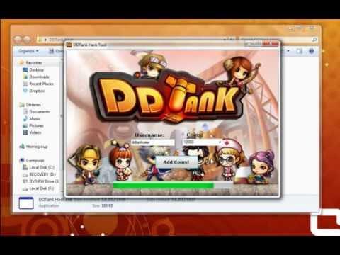 DDTank Hack Cheat Coin Voucher 2012 mediafire