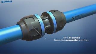 PREVOST PIPING SYSTEM - 100% de aluminio - ES