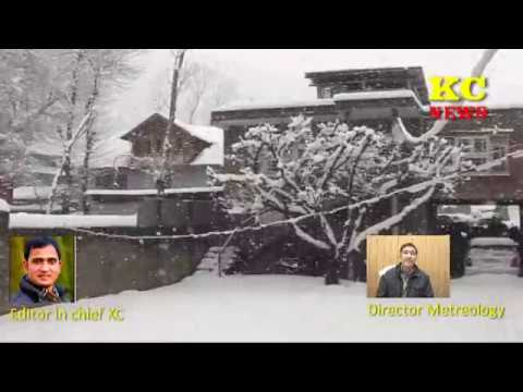 Kashmir Weather Report With Sonam Lotus.
