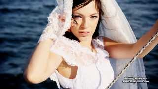 Очень романтическое нежное красивое свадебное видео.Романтический нежный свадебный клип