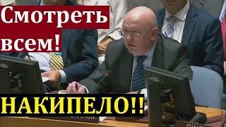 """Такого еще не было в ООН! Небензя """"УНИЧТОЖИЛ Украину"""" и """"Вставил ПИСТОН Западу""""! СРОЧНО!"""