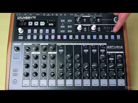 Arturia DrumBrute 101: DrumBrute - Make Beats Now - 3. Creating a Simple Beat