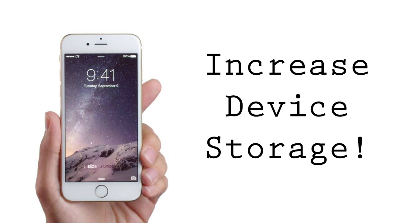 clean iphone storage increase storage clean up your iphone ipod no 7589