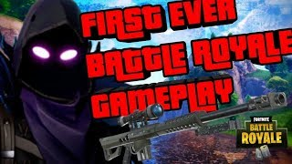 NEW HEAVY SNIPER GAMEPLAY FIRST EVER IN FORTNITE BATTLE ROYALE