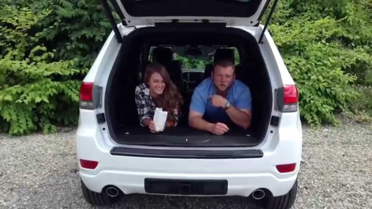 2014 Jeep Grand Cherokee Interior Cargo Room Youtube