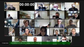 Audiência pública vai debater gestão de recursos relacionados à Covid-19