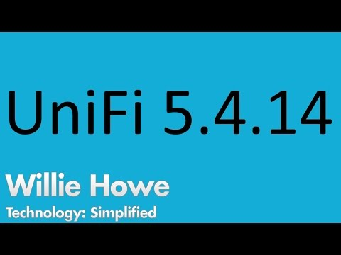 UniFi 5.4.14 Upgrade!