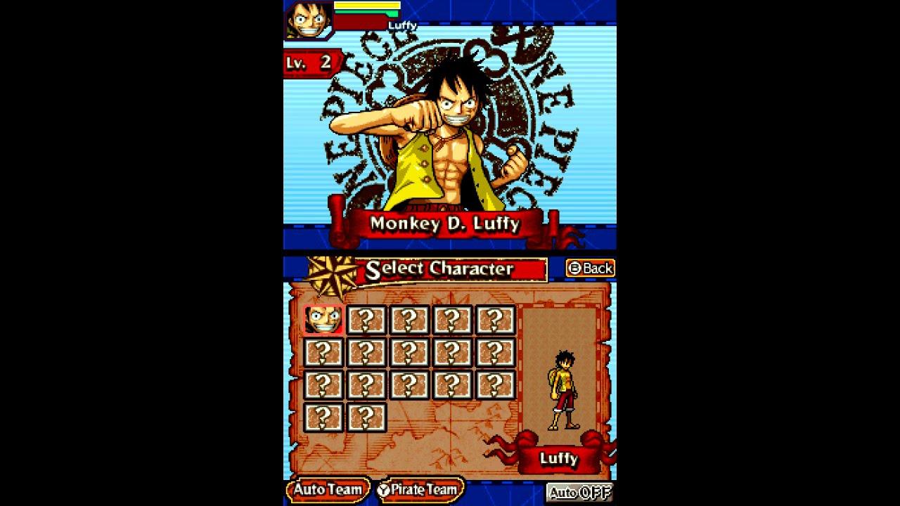 One Piece: Gigant Battle! ... (Nintendo DS) 60fps