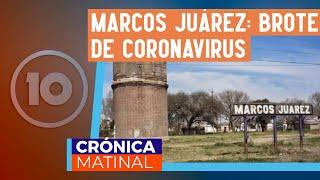 Marcos Juárez: ya hay 35 casos positivos de COVID-19
