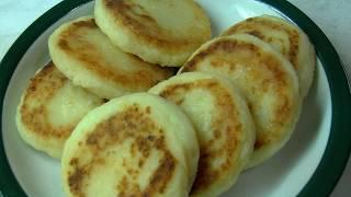 Сырники из творога с картофелем.  Необычно, вкусно и экономно.