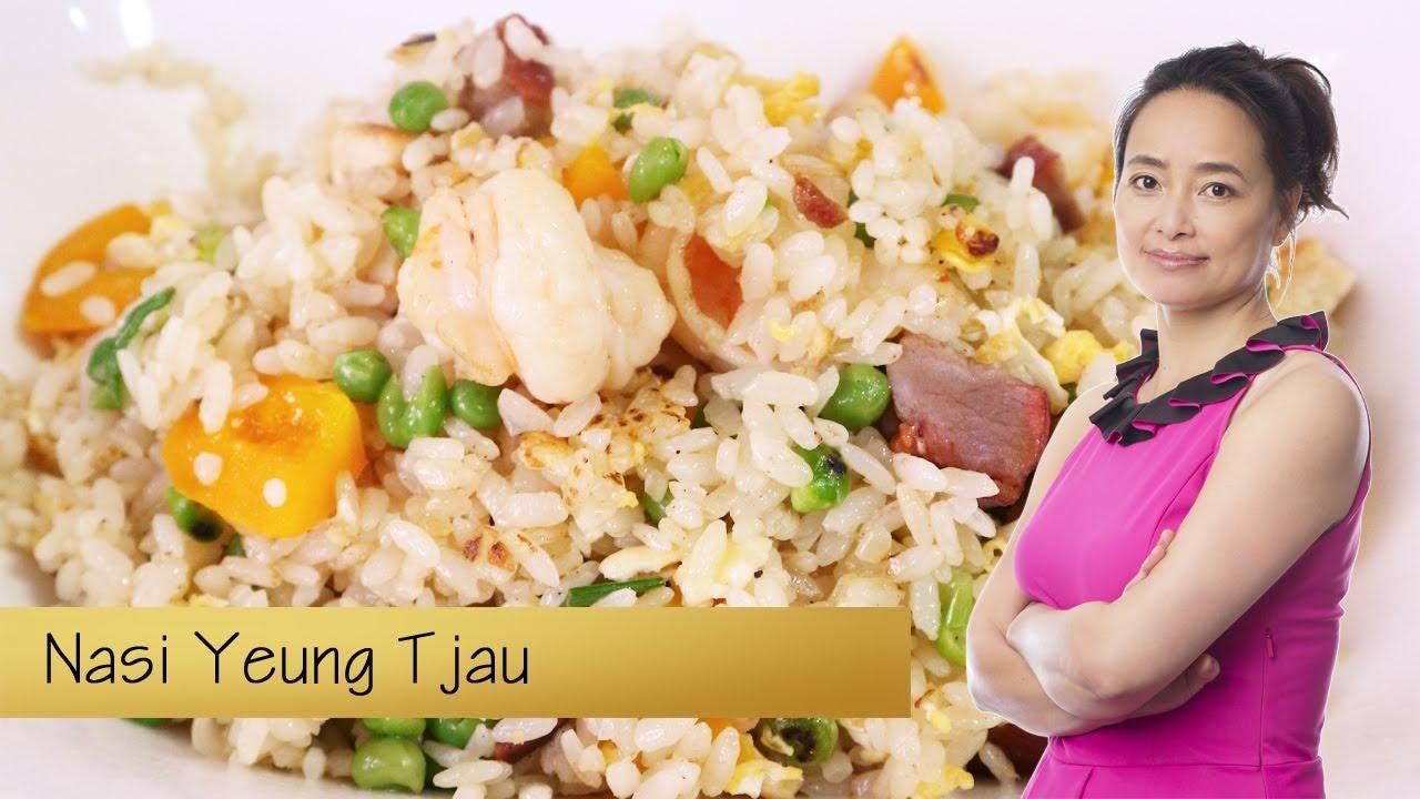 Chinese gebakken rijst: Nasi Yeung Tjau - YouTube