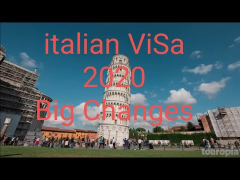 Big Changes in  the  Construction Sectors //And hotel  and Resturant   Sectors //italian Visa 2020//