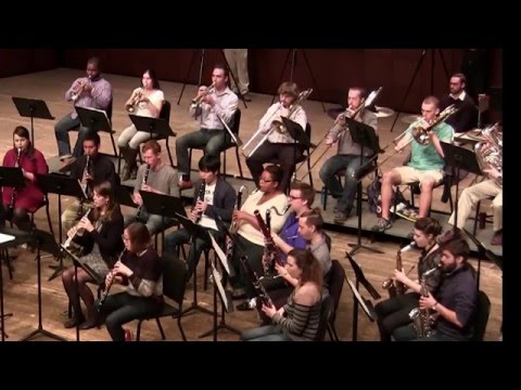 "CCM Wind Orchestra Performs Whitacre's' ""October"""