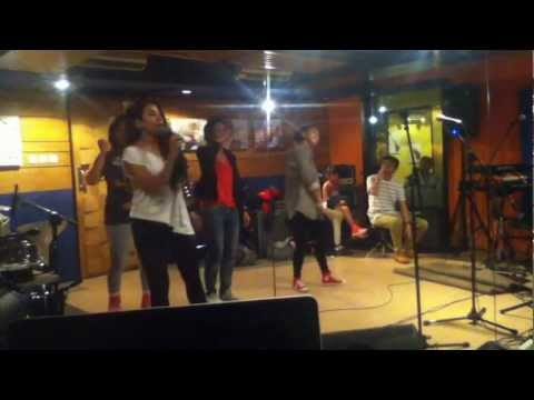 Yacko Brrapp Rehearsal with the girls and DJ Shamp
