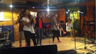 Yacko Brrapp Rehearsal with the girls and DJ Shamp