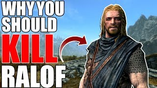 Why You Should Kill Ralof?   Hardest Decisions in Skyrim   Elder Scrolls Lore
