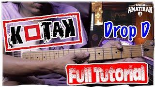 Kotak Beraksi Full Tutorial Gitar (Drop D Tuning) Thanks uda mampir di channelku... semoga videoku bisa membantu temen2 semua... no bully asalkan kasih ...