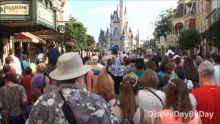 New Magic Kingdom Rope Drop Procedure due to Anna and Elsa from Frozen and Mine Train