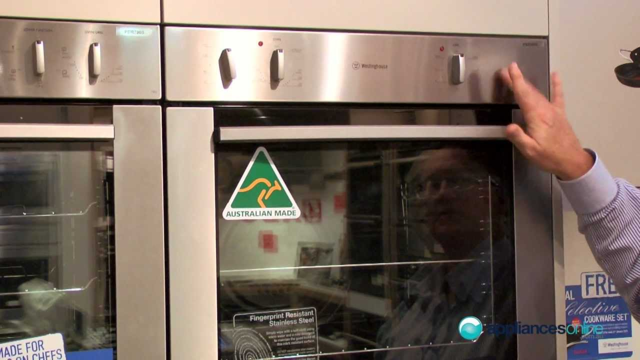 Westinghouse Pxr688 Electric Wall Oven Range Reviewed By Product Expert Liances Online