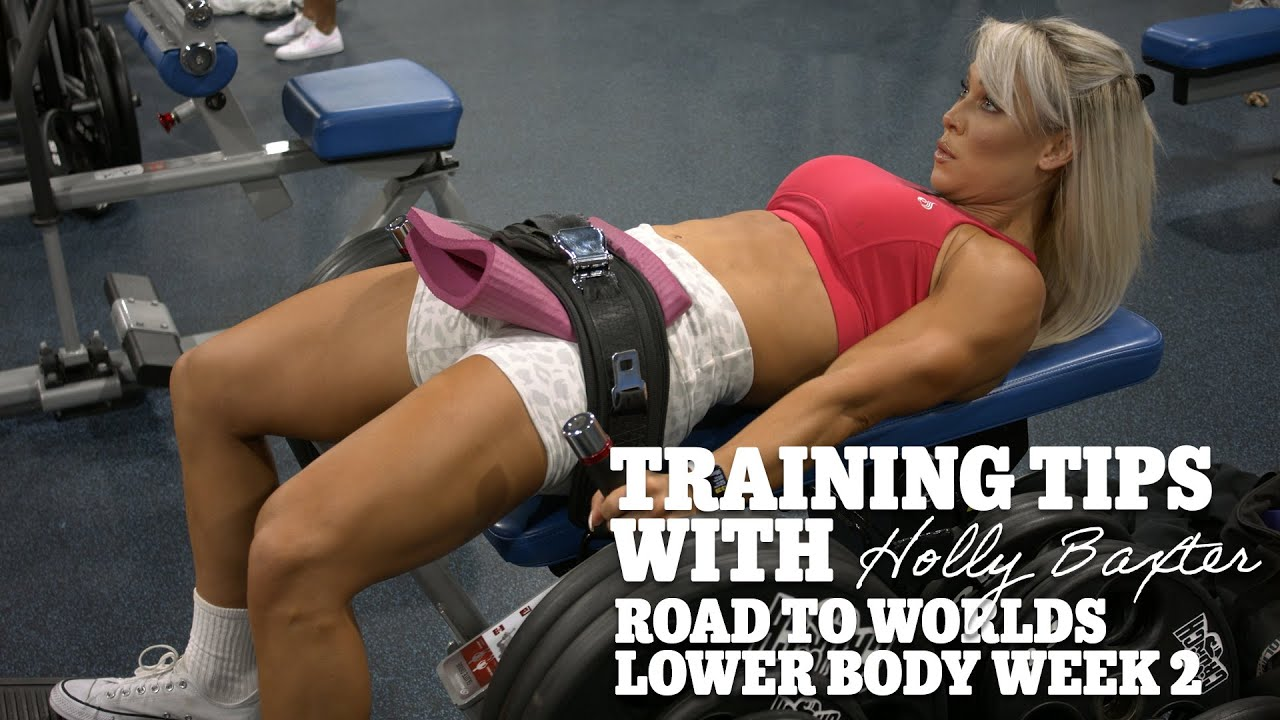 Training Tips with Holly Baxter | Road to Worlds Lower Body | Week 2
