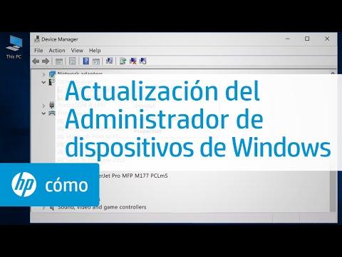 Actualización del Administrador de dispositivos de Windows | HP Computers | HP