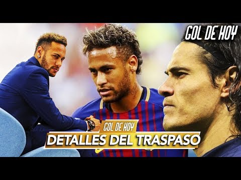 """Las cifras del traspaso de Neymar al Barcelona I Cavani: """"Le deseo lo mejor a Neymar"""" I #goldehoy"""