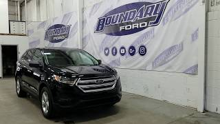 2018 Ford Edge SE W/ 2.0L Ecoboost, AWD, Cloth Seating Overview | Boundary Ford
