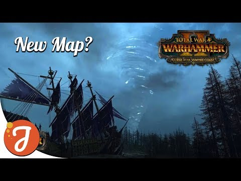 New Map: Galleon's Graveyard? | Curse of The Vampire Coast New, I Guess | Total War: WARHAMMER II