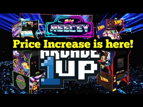 Arcade1Up Price Rise hits Australia!!! from Big Reecey