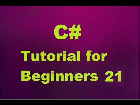 C# Tutorial for Beginners 21 -  Getter and Setter in C#