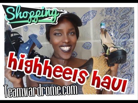 TeamWardrobe | SCHUH HAUL (HIGHHEELS) | BeautybyV