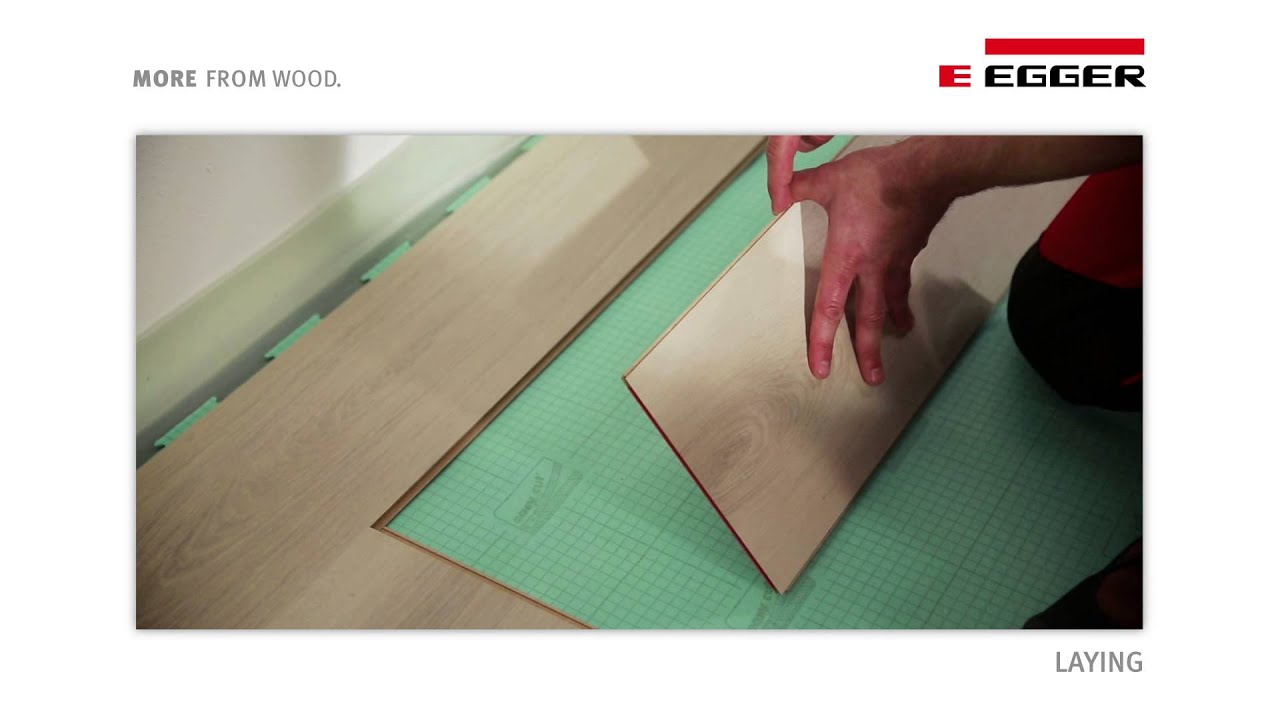 Groovy EGGER Laminate Flooring - Installation with UNIfit! - YouTube YP43