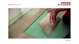 egger laminate flooring installation with unifit