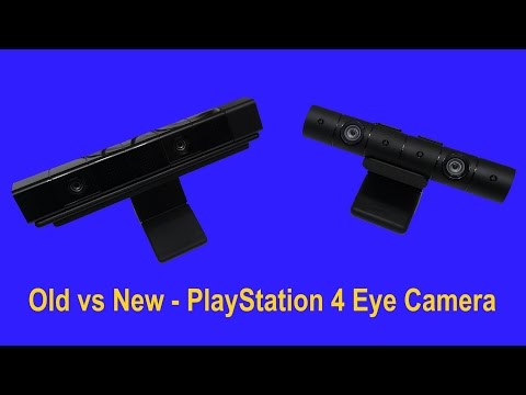PlayStation 4 Camera  -  Old vs New