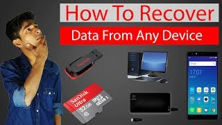 How to recover deleted file like photos, videos, office documents from PC and Mac