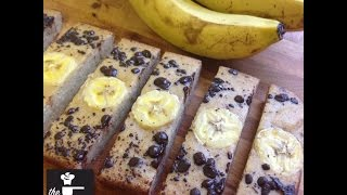 Banana Protein Bars - Healthy / No Added Sugar