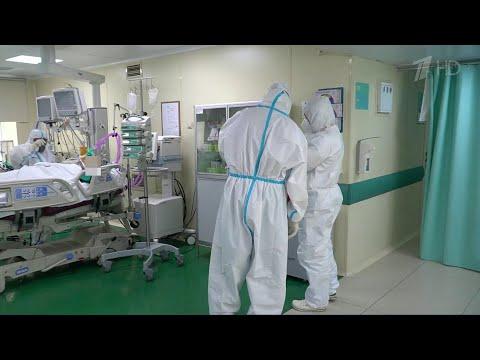В России накануне суточный прирост новых случаев заражения COVID-19 составил 8849.