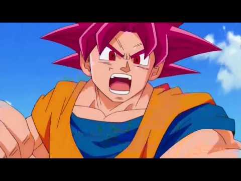 Goku Tries Super Saiyan God Kamehameha For The First Time Dragon Ball Super English DUB
