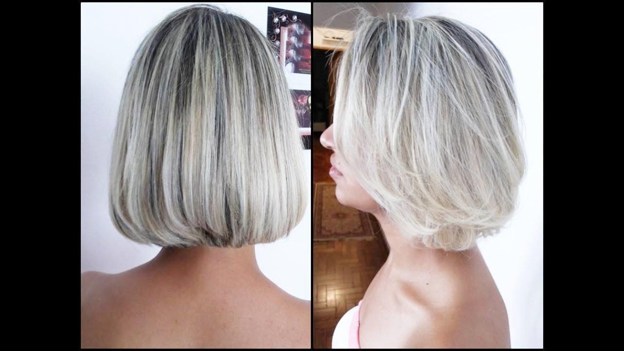 Perda do cabelo em mulheres de uma foto