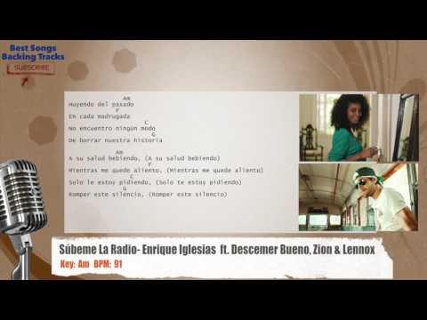 Súbeme La Radio - Enrique Iglesias  ft. Descemer Bueno, Zion & Lennox Vocal Backing Track