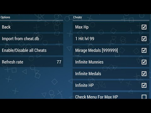 [Tutorial] [PPSSPP] How to put a cheats on ppsspp games