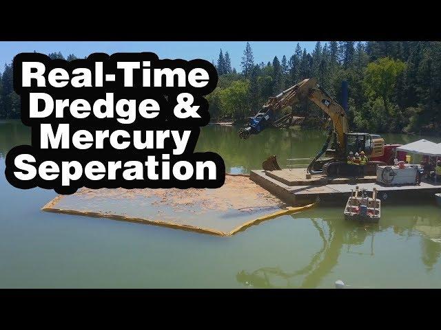 掘削機Drポンプ付属品を使用したリアルタイムの水銀環境修復