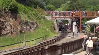 Steam of Ffestiniog Railway UK (Jun.2013) 1 イギリス フェスティニォグ鉄道の蒸気機関車(2013年6月) 1