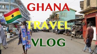 Ghana Travel Vlog - - Elmina Castle | Kakum National Park | and MORE