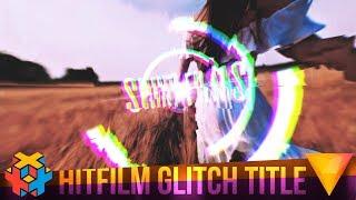 Hitfilm Express - How to Create a Glitch Title
